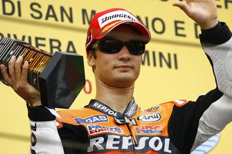 Podyum: Yarış galibi Dani Pedrosa, Repsol Honda Team