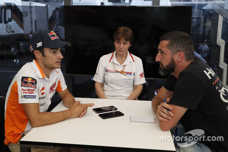 Dani Pedrosa, Repsol Honda, entrevista exclusiva Motorsport.com