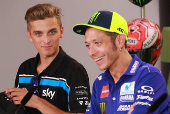 Luca Marini, Sky Racing Team VR46, Valentino Rossi, Yamaha Factory Racing