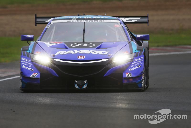 #100 RAYBRIG NSX-GT(Naoki Yamamoto/ Jenson Button)