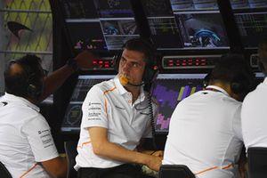 Andrea Stella, ingegnere McLaren