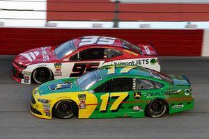 Ricky Stenhouse Jr., Roush Fenway Racing, Ford Fusion John Deere Kasey Kahne, Leavine Family Racing, Chevrolet Camaro Dumont JETS