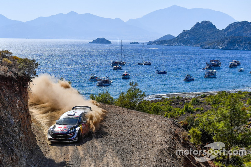 2. Teemu Suninen/Jarmo Lehtinen, M-Sport Ford WRT, Ford Fiesta WRC +13,7