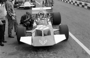 The new Surtees TS7 made it's debut driven by John Surtees