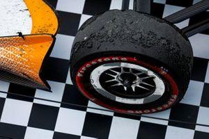 Scott Dixon, Chip Ganassi Racing Honda pulling into Victory Lane