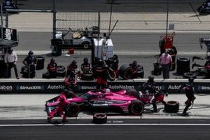 Jack Harvey, Meyer Shank Racing Honda pit stop