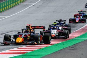 Dennis Hauger, Hitech Grand Prix and Igor Fraga, Charouz Racing System