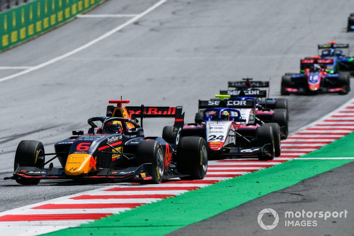 Dennis Hauger, Hitech Grand Prix e Igor Fraga, Charouz Racing System