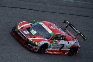 Audi R8 LMS GT3 №30 команды Team Hardpoint, класс GTD: роб Ферриоль, Спенсер Пампелли
