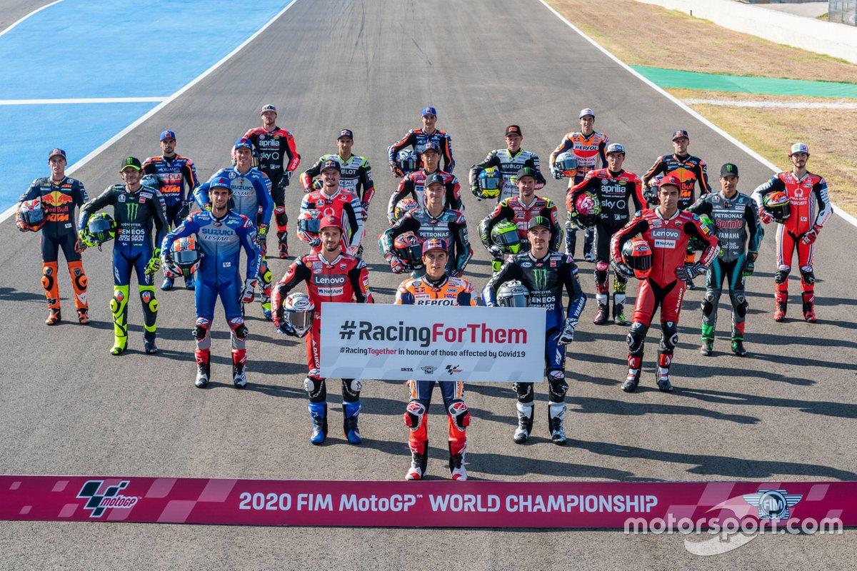 Участники чемпионата MotoGP