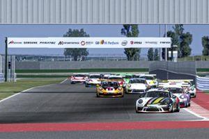 Partenza, Porsche Esports Carrera Cup Italia Prologo 2020