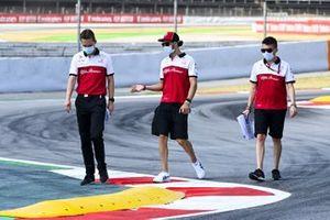 Antonio Giovinazzi, Alfa Romeo fait un tour de piste