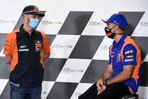 Brad Binder, Red Bull KTM Factory Racing, Miguel Oliveira, Red Bull KTM Tech 3