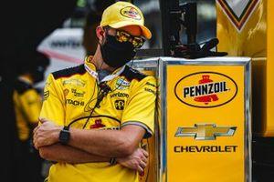 L'équipe de Helio Castroneves, Team Penske Chevrolet