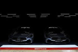 Safety Cars in the garage