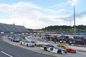 Chase Elliott, Hendrick Motorsports, Chevrolet, Joey Logano, Team Penske Ford