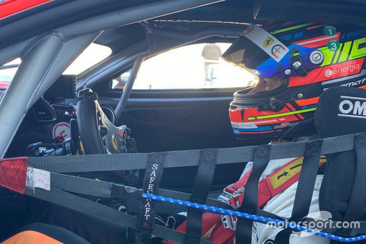Daniele Di Amato, Ferrari 488 GT3