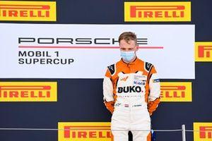 Larry ten Voorde, Team GP Elite, on the podium