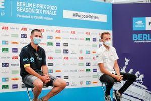 Daniel Abt, NIO 333 in the press conference