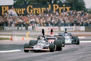 Jean-Pierre Jarier, Shadow DN5, Mario Andretti, Parnelli VPJ4, Patrick Depailler, Tyrrell 007