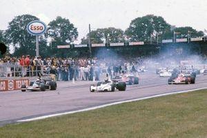 Tom Pryce, Shadow DN5 Ford, Carlos Pace, Brabham BT44B
