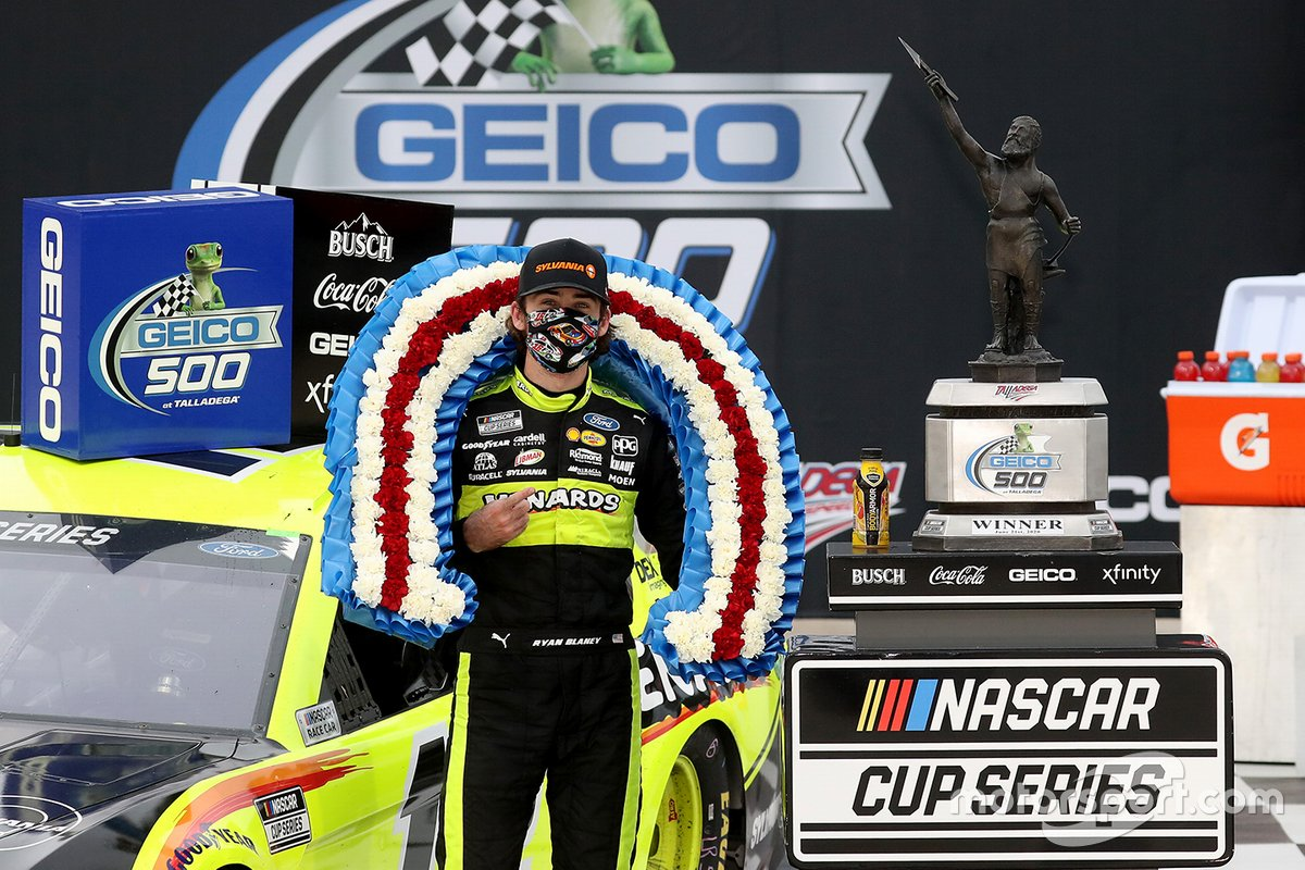 9. Ryan Blaney - 1 win - 9th in points