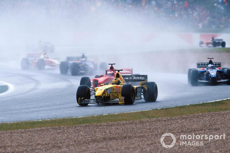 Heinz-Harald Frentzen, Jordan Mugen Honda 199