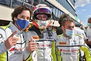 Drudi Mattia, Mancinelli Daniel, Agostini Riccardo, Audi R8 #12, Audi Sport Italia