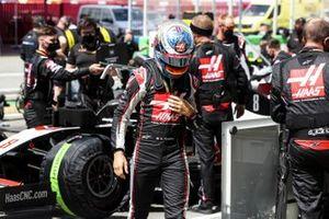 Romain Grosjean, Haas F1 on in the grid