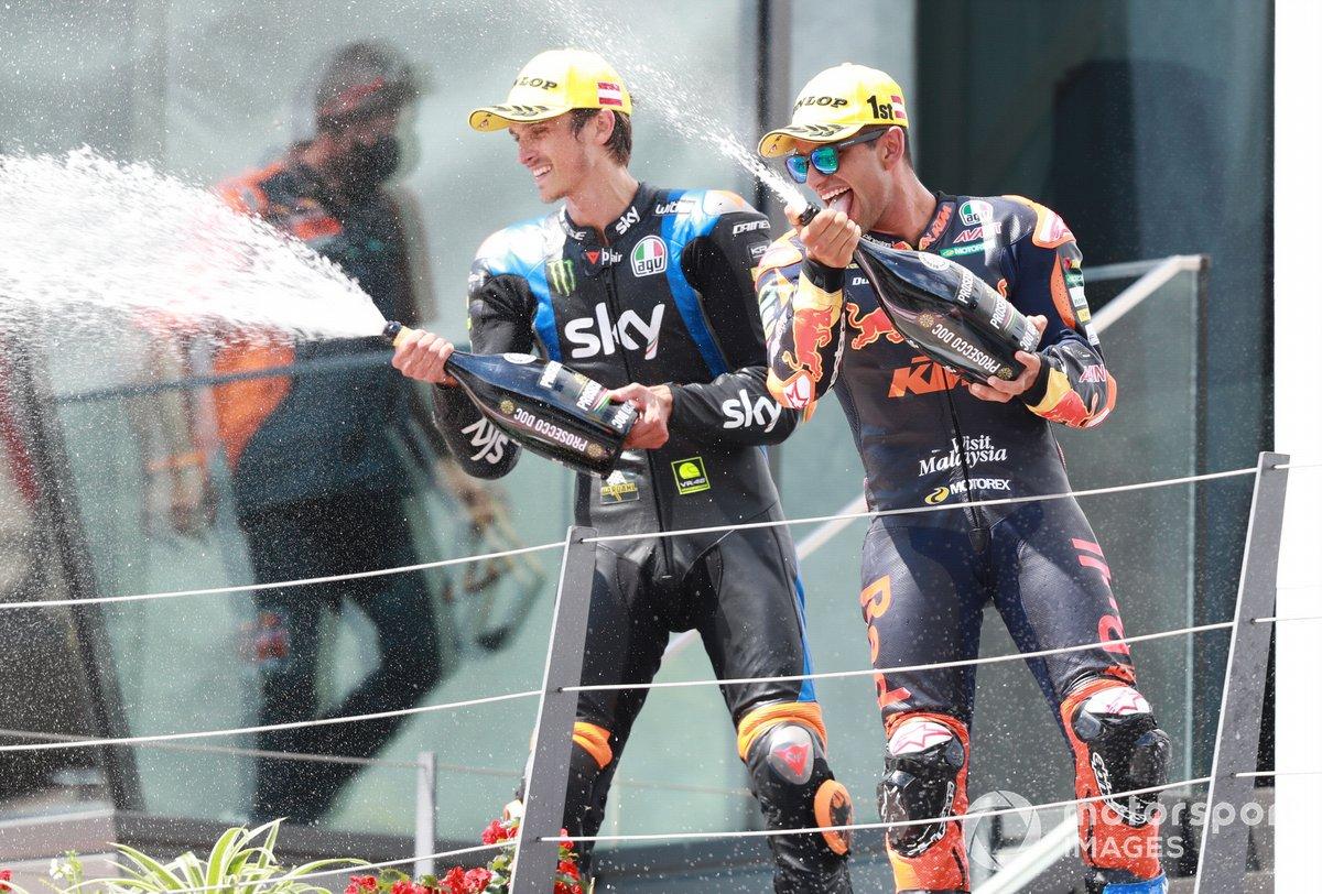 Luca Marini, Sky Racing Team VR46, Jorge Martin, Red Bull KTM Ajo
