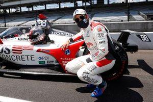Pole Award Winner: Marco Andretti, Andretti Herta with Marco & Curb-Agajanian Honda
