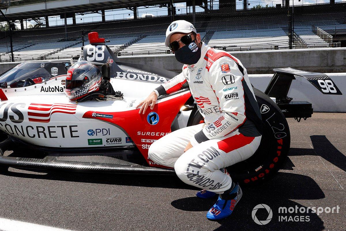 Marco Andretti, Andretti Herta with Marco & Curb-Agajanian Honda conquista la pole