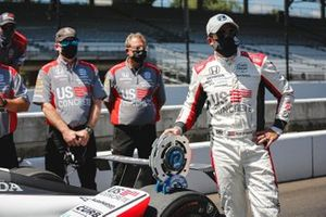 Marco Andretti, Andretti Herta with Marco & Curb-Agajanian Honda, pole award