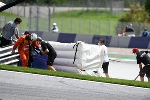 Johann Zarco, Avintia Racing crash