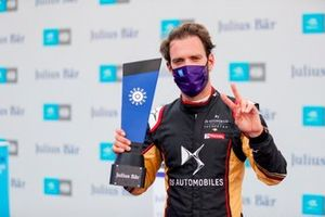 Pole sitter Jean-Eric Vergne, DS Techeetah