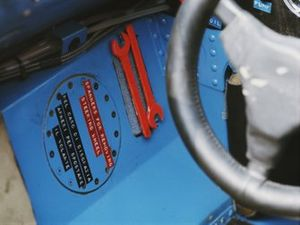 Le cockpit de Jackie Stewart, Matra MS80 Ford