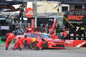 Justin Allgaier, JR Motorsports, Chevrolet Camaro Thank You Team BRANDT