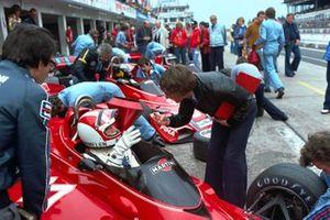 Rolf Stommelen, Brabham BT45 Alfa Romeo, Bernie Ecclestone