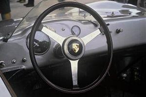 1957 Porsche 718 RSK steering wheel