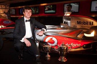 Oliver Rowland, vainqueur du McLaren Autosport BRDC Award