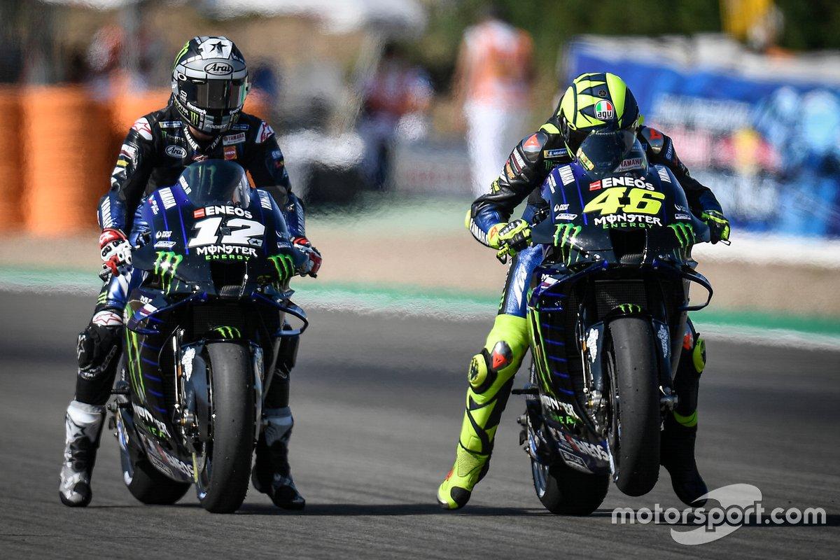 Maverick Vinales, Yamaha Factory Racing, Valentino Rossi, Yamaha Factory Racing