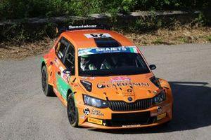 Giacomo Scattolon, Matteo Nobili, CR Motorsport, Skoda Fabia R5