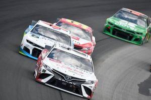 Erik Jones, Joe Gibbs Racing, Toyota Camry Built In Kentucky, Darrell Wallace Jr., Richard Petty Motorsports, Chevrolet Camaro Victory Junction