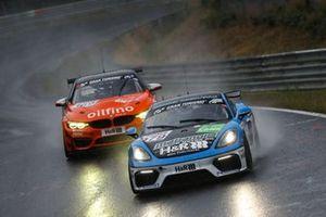 #979 Porsche 718 Cayman GT4 CS: Thorsten Jung, 'Max', Moritz Kranz
