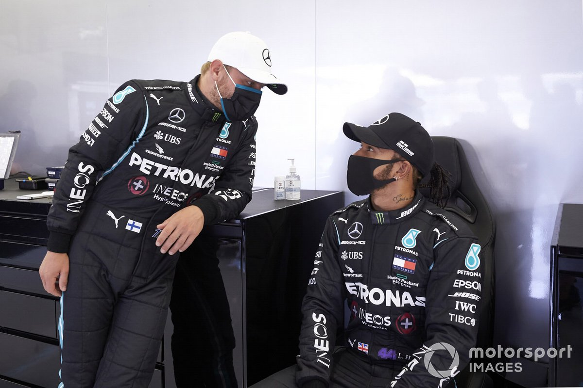 Valtteri Bottas, Mercedes-AMG F1, Lewis Hamilton, Mercedes-AMG F1