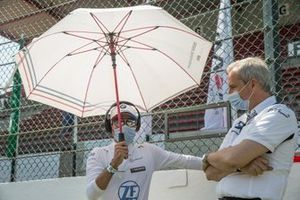 Philipp Eng, BMW Team RBM, Jens Marquardt, BMW Motorsport Director