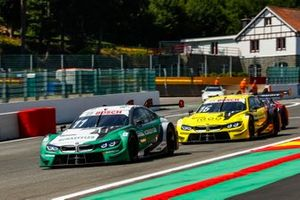 Марко Виттман, BMW Team RMG, BMW M4 DTM, и Тимо Глок, BMW Team RMG, BMW M4 DTM