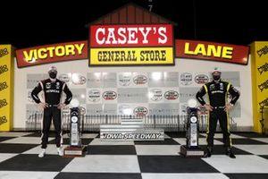 Iowa-Sieger 2020: Josef Newgarden, Team Penske Chevrolet (Rennen 2), Simon Pagenaud, Team Penske Chevrolet (Rennen 1)