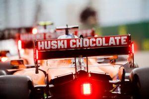 Карлос Сайнс и Ландо Норрис, McLaren MCL35
