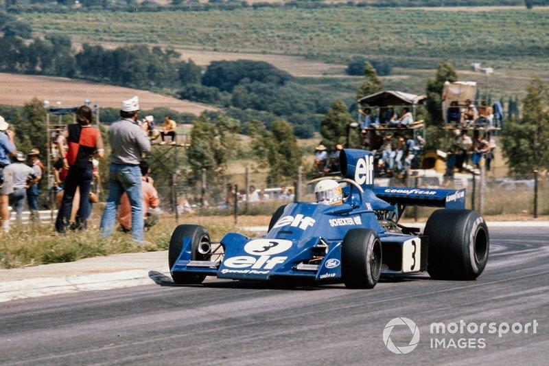 Jody Scheckter, 1 ocasión ganador del GP de Sudáfrica